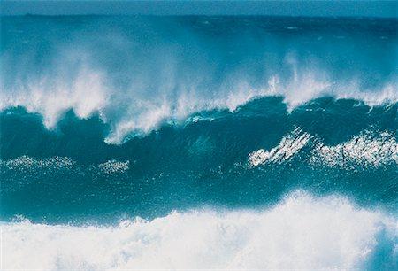 Waves, North Shore, Oahu, Hawaii, USA Stock Photo - Premium Royalty-Free, Code: 600-00041628