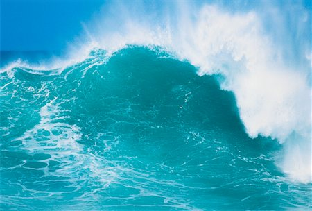 Waves, North Shore, Oahu, Hawaii, USA Stock Photo - Premium Royalty-Free, Code: 600-00041629