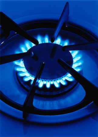 flame - Flame from Gas Stove Element Stock Photo - Premium Royalty-Free, Code: 600-00055205