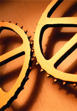 Close-Up of Gears Stock Photo - Premium Royalty-Free, Code: 600-00053084