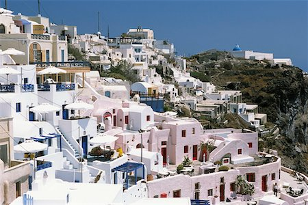 simsearch:600-00052306,k - Cityscape, Thira, Santorini, Greece Stock Photo - Premium Royalty-Free, Code: 600-00076591