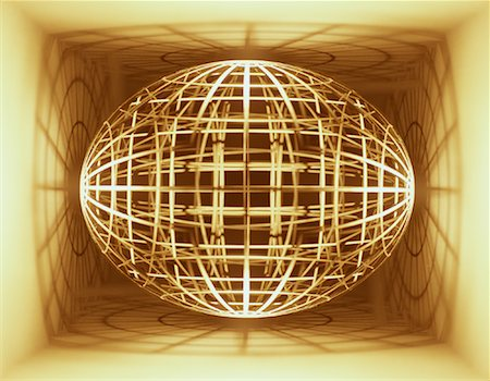 Wire Globe in Box Stock Photo - Premium Royalty-Free, Code: 600-00072804