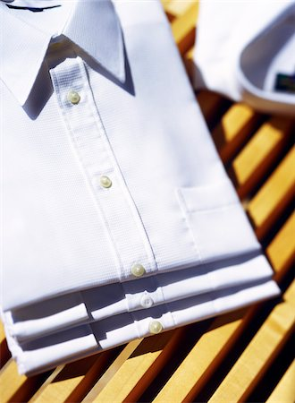 White Shirts Stock Photo - Premium Royalty-Free, Code: 600-00094736