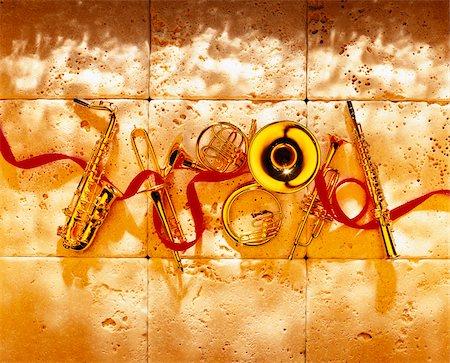 Musical Instruments Stock Photo - Premium Royalty-Free, Code: 600-00155599