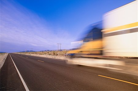 peter griffith - Transport Truck on Highway, Nevada, USA Stock Photo - Premium Royalty-Free, Code: 600-00171281