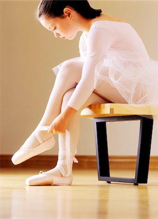 Ballerina Stock Photo - Premium Royalty-Free, Code: 600-00378008