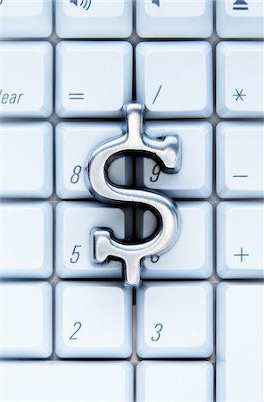 Dollar Sign on Keypad Stock Photo - Premium Royalty-Free, Code: 600-00551113