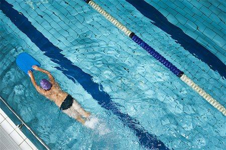 Swimmer in Pool Stock Photo - Premium Royalty-Free, Code: 600-00814674