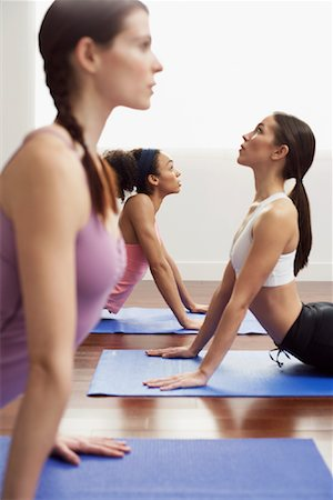 Women Doing Yoga Stock Photo - Premium Royalty-Free, Code: 600-00824884