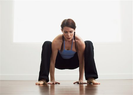 Woman Exercising Stock Photo - Premium Royalty-Free, Code: 600-00824933