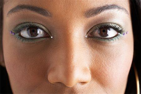 Woman's Eyes Stock Photo - Premium Royalty-Free, Code: 600-00823976