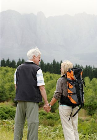 simsearch:600-00846421,k - Couple Hiking Stock Photo - Premium Royalty-Free, Code: 600-00846424