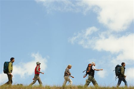 simsearch:600-00846421,k - People Hiking Stock Photo - Premium Royalty-Free, Code: 600-00846428