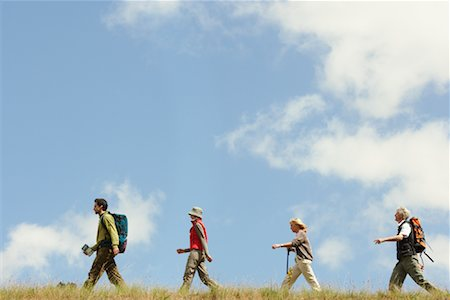 simsearch:600-00846421,k - People Hiking Stock Photo - Premium Royalty-Free, Code: 600-00846429