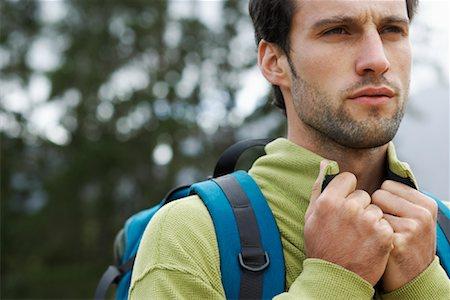 simsearch:600-00846421,k - Man Hiking Stock Photo - Premium Royalty-Free, Code: 600-00846420