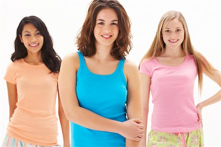 Portrait of Girls Stock Photo - Premium Royalty-Free, Code: 600-00866198