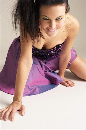 Portrait of Woman Stock Photo - Premium Royalty-Free, Code: 600-00866893
