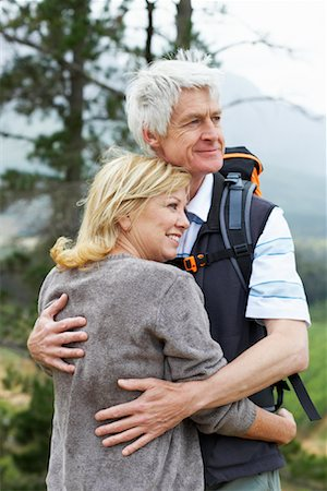 simsearch:600-00846421,k - Couple Outdoors Stock Photo - Premium Royalty-Free, Code: 600-00911896