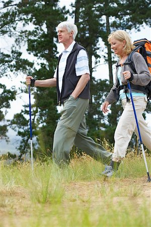 simsearch:600-00846421,k - Couple Hiking Stock Photo - Premium Royalty-Free, Code: 600-00911891