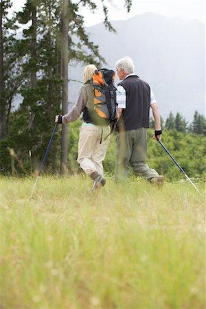 simsearch:600-00846421,k - Couple Hiking Stock Photo - Premium Royalty-Free, Code: 600-00911892