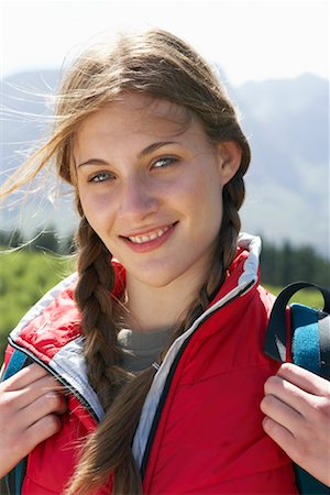 simsearch:600-00846421,k - Portrait of Young Woman Stock Photo - Premium Royalty-Free, Code: 600-00911911