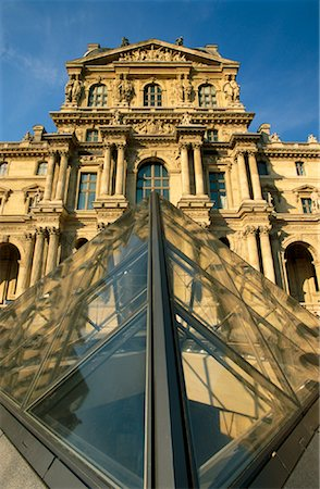 simsearch:600-02428966,k - Louvre Museum, Paris, France Stock Photo - Premium Royalty-Free, Code: 600-00954290