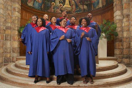 Gospel Choir Stock Photo - Premium Royalty-Free, Code: 600-00984042