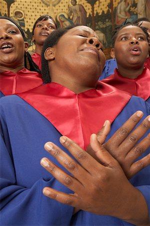 Gospel Choir Stock Photo - Premium Royalty-Free, Code: 600-00984058