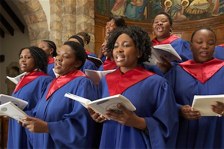 Gospel Choir Stock Photo - Premium Royalty-Free, Code: 600-00984064