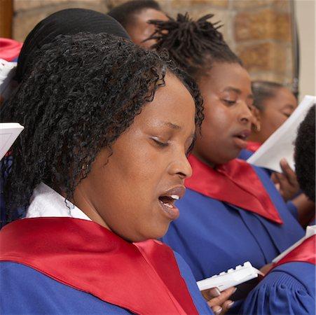 Gospel Choir Stock Photo - Premium Royalty-Free, Code: 600-00984061