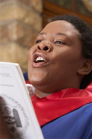 Gospel Choir Stock Photo - Premium Royalty-Free, Code: 600-00984062