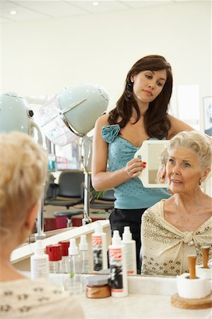 Women at Hair Salon Stock Photo - Premium Royalty-Free, Code: 600-01037726