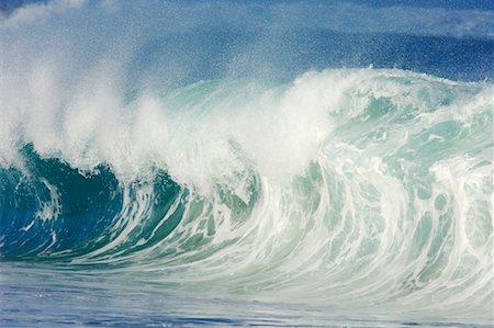 Waves, North Shore, Oahu, Hawaii Stock Photo - Premium Royalty-Free, Code: 600-01030166