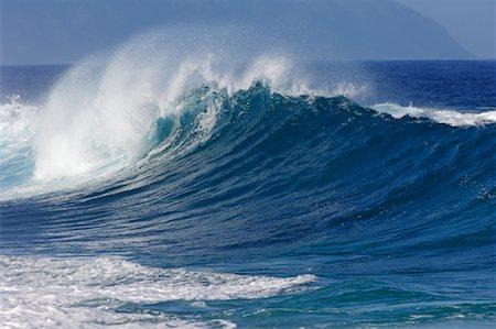 Waves, North Shore, Oahu, Hawaii Stock Photo - Premium Royalty-Free, Code: 600-01030168