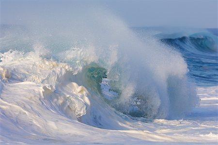 Waves, North Shore, Oahu, Hawaii Stock Photo - Premium Royalty-Free, Code: 600-01030174