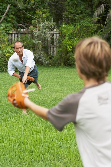 father son  sports