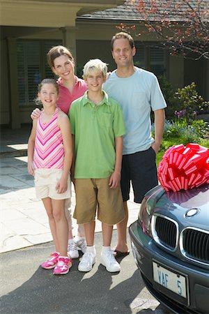 Portrait of Family Stock Photo - Premium Royalty-Free, Code: 600-01083007
