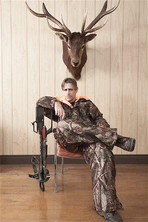 deer hunt - Portrait of Hunter Stock Photo - Premium Royalty-Free, Code: 600-01124353