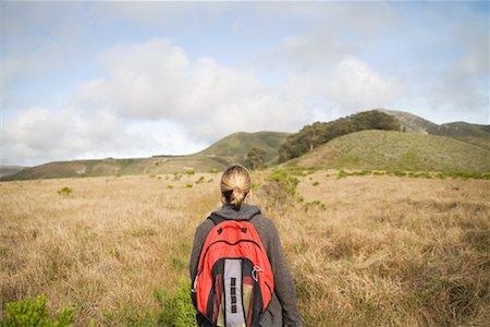simsearch:600-00846421,k - Woman Hiking Stock Photo - Premium Royalty-Free, Code: 600-01124368