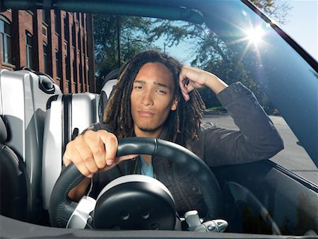 Man Driving Stock Photo - Premium Royalty-Free, Code: 600-01164668