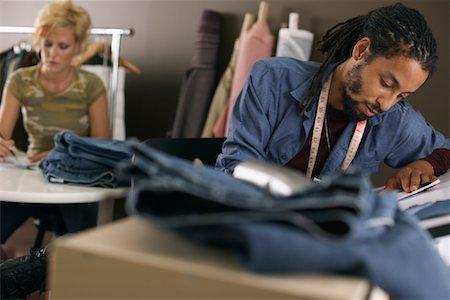 draw black women - Fashion Designers Stock Photo - Premium Royalty-Free, Code: 600-01172677