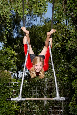 preteen girl feet - Girl Doing Gymnastics Outdoors Stock Photo - Premium Royalty-Free, Code: 600-01173705