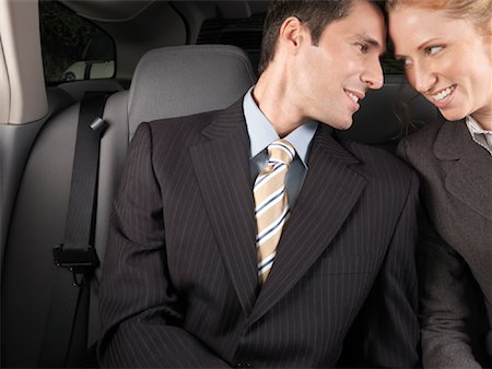 Man and Woman in Car Stock Photo - Premium Royalty-Free, Code: 600-01173941