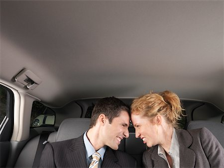 Man and Woman in Car Stock Photo - Premium Royalty-Free, Code: 600-01173942
