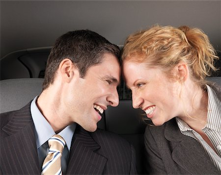 Man and Woman in Car Stock Photo - Premium Royalty-Free, Code: 600-01173943