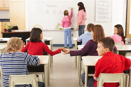 Students and Teacher in Classroom Stock Photo - Premium Royalty-Free, Code: 600-01184689