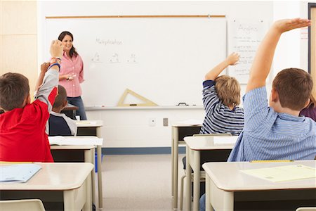 simsearch:600-01184690,k - Students and Teacher in Classroom Stock Photo - Premium Royalty-Free, Code: 600-01184694