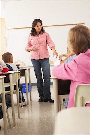 simsearch:600-01184690,k - Students and Teacher in Classroom Stock Photo - Premium Royalty-Free, Code: 600-01184696