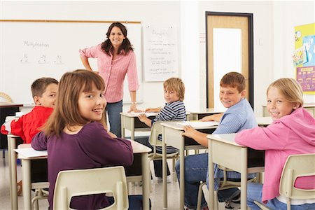 simsearch:600-01184690,k - Students and Teacher in Classroom Stock Photo - Premium Royalty-Free, Code: 600-01184699