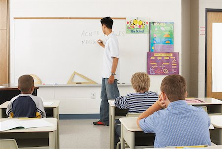 simsearch:600-01184690,k - Students and Teacher in Classroom Stock Photo - Premium Royalty-Free, Code: 600-01184692